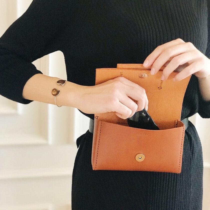 Mozza - Tri Belt Bag Brown Çanta