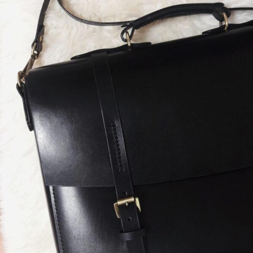 Mozza - Briefcase Black Çanta